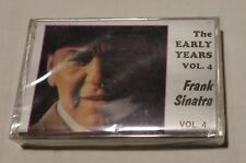 Frank Sinatra The Early Years Vol 4  new/sealed cassette tape