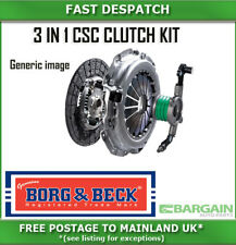 3 PIECE CSC CLUTCH KIT FOR NISSAN BORG & BECK  HKT1181