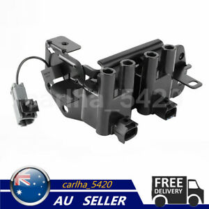 Ignition Coil Pack For Hyundai Accent Getz Kia RIO 1.4L 1.5L 1.6L G4EC G4ED