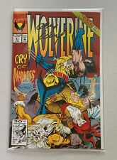 WOLVERINE No. 51 30th Anniversary The Fantastic Four Signed by Andy Kubert