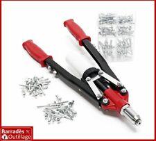 Pince Riveteuse à bras pour rivets aveugles, pop,...  3,2 à 6,4 mm + 150 rivets
