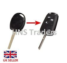 3 BUTTON UNCUT CONVERSION REMOTE KEY FOB for FORD FOCUS/MONDEO/GALAXY/CMAX etc
