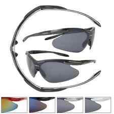 Baseball Style Sunglasses Sports Wrap Around Athletic Sporty Sun Glasses