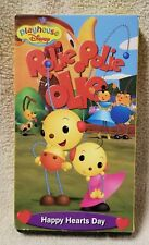 ROLIE POLIE OLIE - HAPPY HEARTS DAY Vhs Video Tape Playhouse Disney 2001 Nelvana