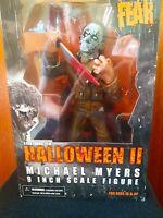 Mezco HALLOWEEN 2 MICHAEL MYERS - Cinema Of Fear 2010 - 9 Inch Figure RARE!!!