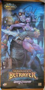 World of Warcraft TCG - Servants of the Betrayer Prerelease Banner Vinyl 3' x 6'