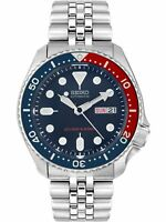 Seiko Men's Automatic SKX009K2 Blue Stainless-Steel Self Wind Diving Watch