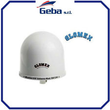 ANTENNA ANTENNE NAUTICA MARINO PER BARCA GLOMEX VHF RA124 Altezza 30 cm Diam 25