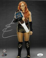 BECKY LYNCH WWE WOMENS DIVA THE MAN SIGNED AUTOGRAPH 8X10 PHOTO #5 JSA COA