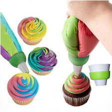 Icing Piping Nozzles Tips Pastry Bag Cake Cupcake Sugarcraft Decorating Tool ELS