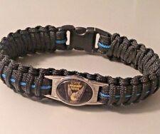 Thin Blue Line *  Paracord Bracelet * Ohio State Patrol