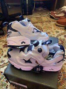 Reebok Instapump Fury OG MU Sneakers Classic Gray Navy Authentic - FV0419 SZ 7