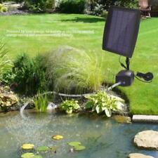 Solar Fish Tank Aquarium Air Pump Oxygenator Oxygen Aerator for Pool Pond SD