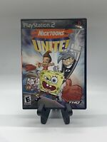 Nicktoons Unite PS2 Complete CIB Tested Sony PlayStation 2 Ps2 Game Good