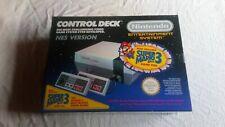NINTENDO NES ORIGINAL CONSOLE IN BOX COMPLETE UNBELIEVABLE CONDITION.
