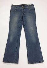 On n'est pas des anges jeans w30 tg 44 F40 usati blu stretch denim dritti T2123