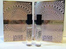 2 x L'Amour Lalique Eau De Parfum EDP 2ml