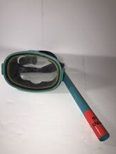 Vintage Healthways Ocean Side Oval Diving Mask & Snorkel