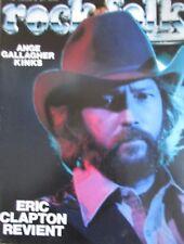 MAGAZINE ROCK & FOLK N° 142 de 1978 ERIC CLAPTON ANGE GALLAGHER KINKS LES WHO