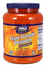 Plant Protein Complex Chocolate Mocha Now Foods 2 lbs Powder