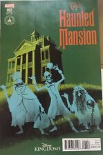 *NEW Disney Kingdoms Marvel HAUNTED MANSION Comic Variant #2 Issue Parks Cover