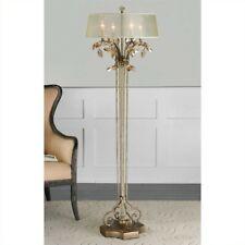 Uttermost Alenya Burnished Gold Metal Floor Lamp