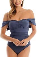 Magicsuit Women's 171786 Solids Natalie One-Piece Size Swimsuit 14