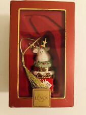 """Lenox Collectable Christmas Ornament """"For My Deer"""" New In Box Porcelain"""