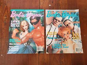 Barbie Bazaar Magazine June & August 2003 Love Romance Novel Toy Fair