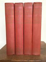 R.E. Lee: A Biography 1947 Douglas Southall Freeman 4 Volumes Robert E. Lee