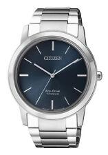 Citizen eco drive aw2020-82l reloj hombre super Titanium Titan zafiro vidrio nuevo