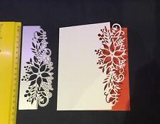 Border Christmas Flower/Poinsettia die/ Cut/Cutting/NEW