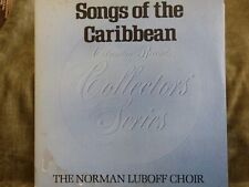 THE NORMAN LUBOFF CHOIR-Songs Of The Caribbean- LP