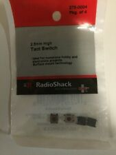 2.5mm High Tact Switch #275-0004 By RadioShack