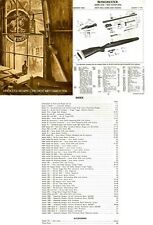 Winchester 1974 Component Parts Catalog