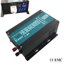 12V to 240V 50HZ 600W Off Grid Pure Sine Wave Car Power Inverter