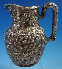 Repousse by Dominick & Haff Sterling Silver Water Pitcher (#1633)