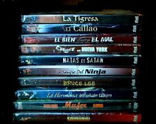 10 DVDs NEW in Box Still Sealed Lot of  Spanish Mexico Mexican NIB DVD