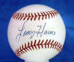 Lenny Harris Psa/dna Authenticated Signed National League Baseball Autograph