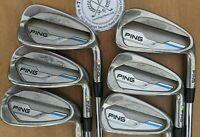 PING i Series E1 Irons - 5 - PW - DYNAMIC GOLD S300 STIFF SHAFTS - YELLOW Dot
