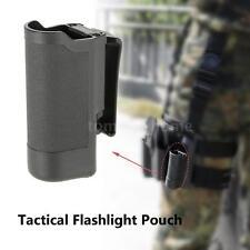 Led Flashlight Torch Belt Pouch Holster Holder Carry Tactical Black Nylon H3H9