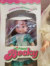 Mint in Box Fisher Price My Friend Becky Doll