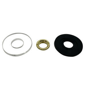 Replacement Quartz CD Clock Fittings - Plastic/Rubber Washer & Fixing Nut Craft