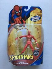 "Civil War IRON-SPIDER-MAN MOC Toy Biz Spider-Man Action Figure 6"" Marvel"