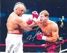 Tommy Morrison vs George Foreman Autographed Signed 8x10 Photo COA DECEASED
