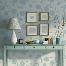 Flower Stencils Rachel for Easy Decor better than wallpapers decals