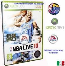 NBA LIVE 10 XBOX 360 GIOCO NUOVO VERSIONE ITALIANA 2010