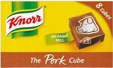KNORR PORK STOCK CUBES 3 X 8 PACK