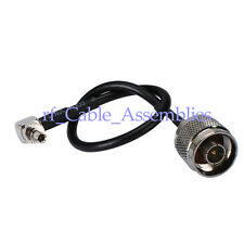 N male to CRC9 plug RA pigtail cable 15cm for 3G HuaWei E618 E620 E630 E660A