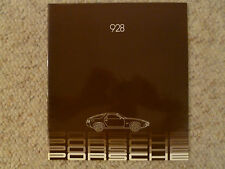 1982 Porsche 928 DELUXE Showroom Advertising Sales Brochure RARE!! Awesome L@@K